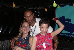 End of the night on a WBAI Liquid Sound Lounge boat cruise